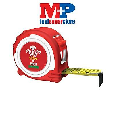 Advent 45025WRFU Official Welsh Rugby Tape Red / White 5m/16ft (Width 25mm)
