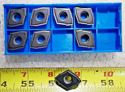 NEW CERATIP ZCMT 150406 GRADE KW10 CARBIDE INDEXABLE DRILL INSERT, Lot of 8 Pcs