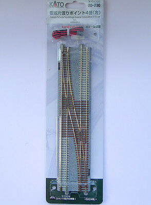 Kato N Scale 20-230 UNITRACK #4 Single Crossover Turnout 248mm Left