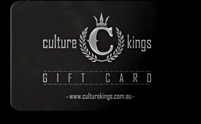 Culture Kings $99.95 Gift Card