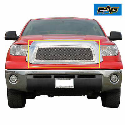 2007-2009 Toyota Tundra Grille Rivet Chrome SS Wire Mesh Grille Grill Insert