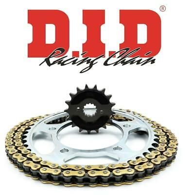 D.I.D & JT Quiet Chain And Sprocket Kit Suzuki GSF1250N/S K7-L5 (Inc ABS) 07-15