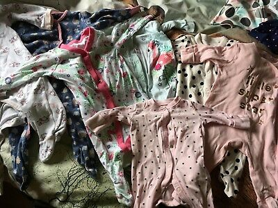 Baby Girl Clothes Bundle Tiny 0-3 3-6 6-9