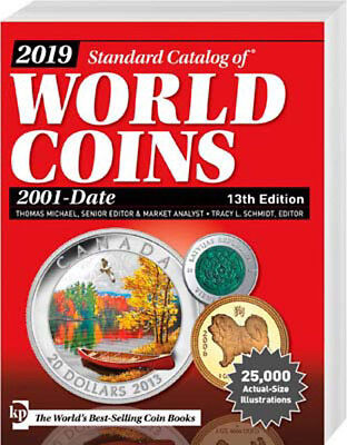 Standard Catalog of World Coins 2001 - Date, 13. Aufl. 2019, neu