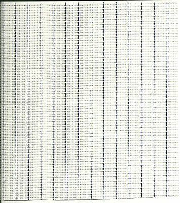 """Waste Canvas Fabric for Cross Stitch 14 Count  9""""x12"""" Charles Craft New"""
