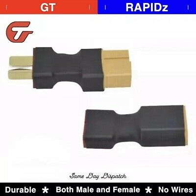 XT60 Female Male to T Female Male Plug Conversion Connector for Rc Lipo Battery