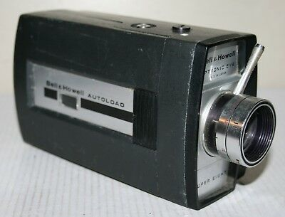 Bell & Howell Optronic Eye - Autoload Super 8mm Reflex Movie / Cine Film Camera