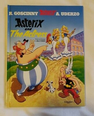 Asterix and the Actress by Albert Uderzo, Rene Goscinny Hardback New