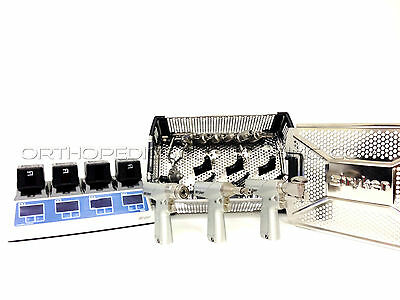 Stryker System 7 Set With 7203, 7206, 7208 Handpieces *With Warranty*
