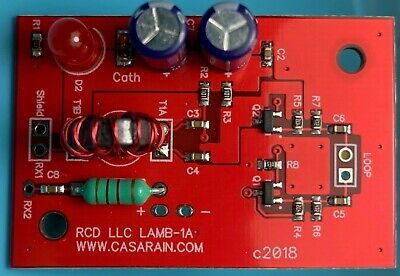 AMPLIFIER DIY KIT for Active Magnetic HF Antenna 3MHz-30MHz