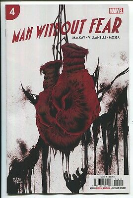 Man Without Fear #4 - Kyle Hotz Main Cover - Marvel Comics/2019