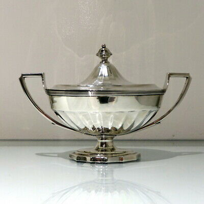 18th Century Antique George III Sterling Silver Sauce Tureen Lon 1795 J Scofield