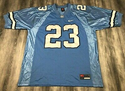 a5b9c3ba871fa4 NIKE NORTH CAROLINA TAR HEELS UNC  23 Michael Jordan Football Jersey ...
