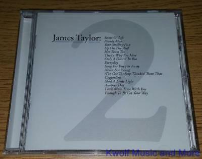 """JAMES TAYLOR  """"Greatest Hits Volume 2""""  NEW   (CD, 2000)"""
