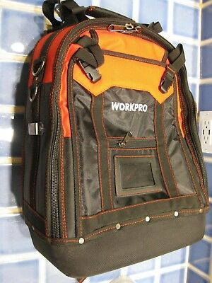 80a52b1f0b NEW WORKPRO Multi-Functional Tool Backpack Tradesman Organizer pack bag