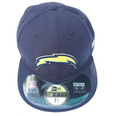 NEW ERA 59FIFTY NFL Fitted San Diego Chargers Team Hat Cap Two Tone ... fb4ac6c824d5