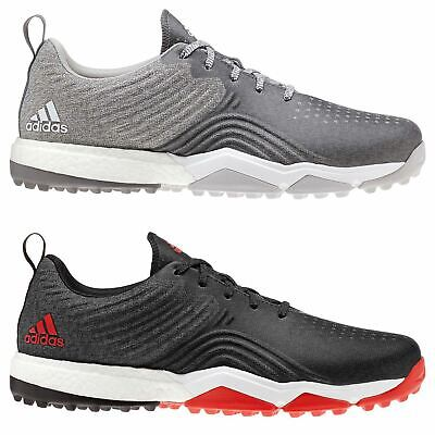 new style 0925d ffa87 adidas adipower 4orged BOOST Golf Shoes Mens Spikeless Footwear