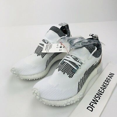 designer fashion 5b6a4 60703 Adidas x WCG NMD Racer Men s 13 Monaco Whitaker Car Club White AC8233 Shoes  New