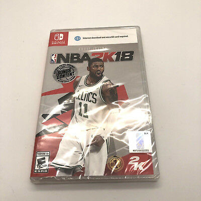 NBA 2K18 for Nintendo Switch NEW FACTORY SEALED