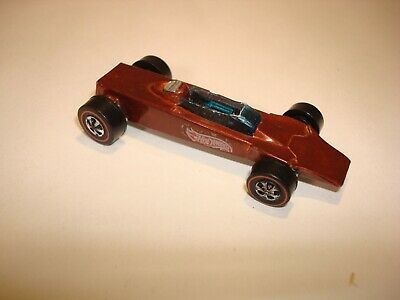 143087d86a2a Hot Wheels Redline Lotus Turbine in Spectraflame Brown 1969 Hong Kong