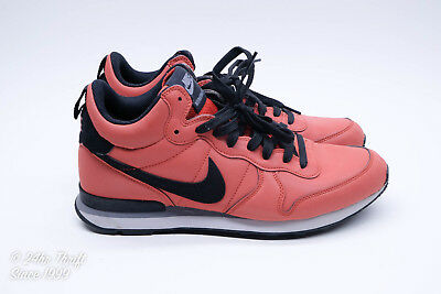 huge discount 06b28 a8342 Nike Internationalist Mid 696424-600 Reflective 3m Mens Size 9 Red Clay