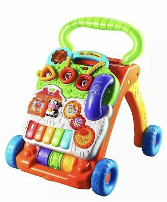 Sit to Stand Baby Learn to Walk Toy VTech Learning Walker Interactive Fun Games