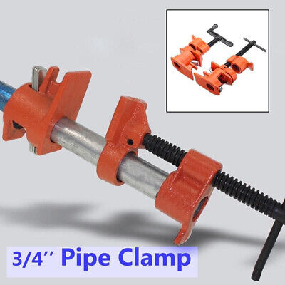 Iron Pipe Clamp Woodworking Carpenter Wood Gluing Cast Heavy Duty New Hot Sale