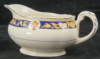 Grindley Creampetal Ceramic Early 20th Century Gravy Boat in good condition