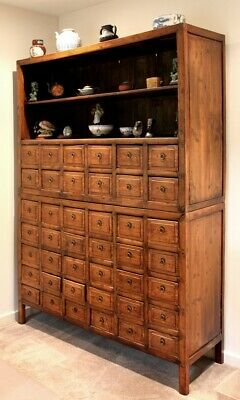 Antique Chinese Apothecary, Medicine Cabinet
