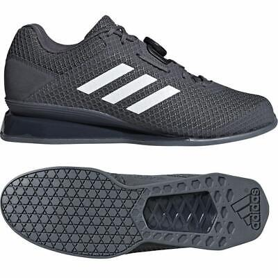 Adidas Leistung 16 II Weightlifting Shoes Mens Womens Grey Powerlifting Trainer