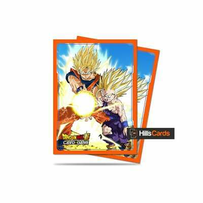 Dragon Ball Super Card Game Sleeves By Ultra Pro - Father-Son Kamehameha - TCG