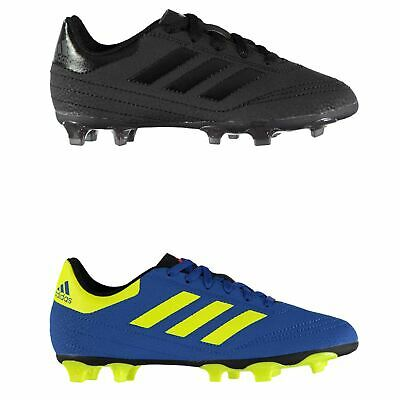 new concept 5ad4c a12f4 adidas Goletto FG Firm Ground Football Boots Childs Soccer Shoes Cleats