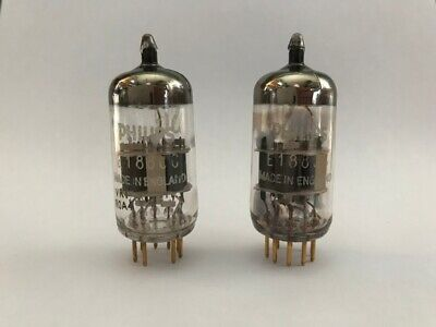 Philips/Mullard 'Made in England' E188cc/7308 matched, 1960
