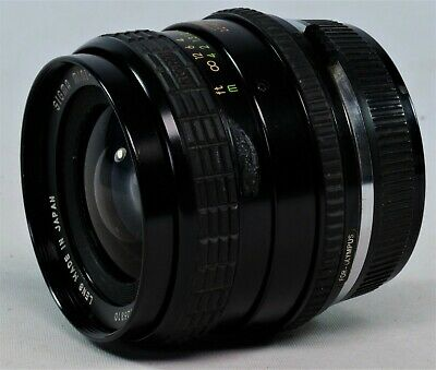 Vintage Sigma Mini Wide 28mm f2.8 Wide Angle Lens, OM Bayonet Fit. Spares/Rep.
