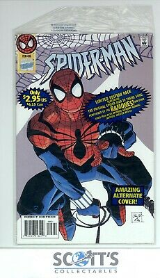 Spider-Man #65 With Open Bag & Cassette No Sleeve Vfn/nm (Board & Bagged)