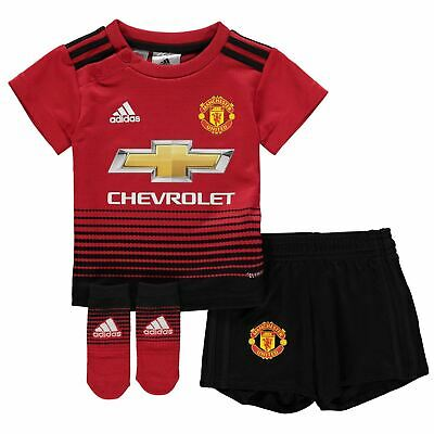 f81377bc0 adidas Manchester United Home Baby Kit 2018 19 Infants Red Football Soccer  Strip