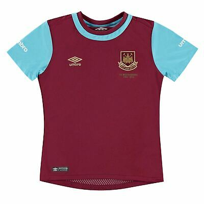 Umbro West Ham United Home Jersey 2015 2016 Juniors Claret Football Soccer Shirt