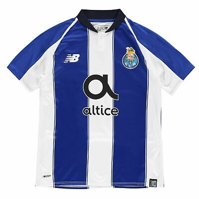 New Balance Porto Home Jersey 2018 2019 Juniors Blue Football Soccer Shirt Top