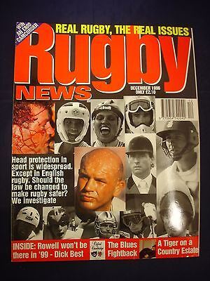 Rugby News magazine  - December 1996