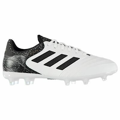 355f2becf67 adidas Copa 18.2 Firm Ground Football Boots Mens White Black Gold Soccer  Cleats