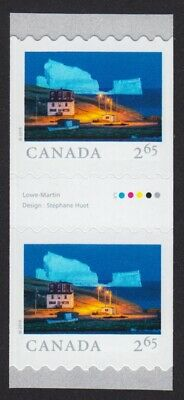GUTTER pair = ICEBERG ALLEY = FROM FAR AND WIDE = Coil/Roll MNH-VF Canada 2019