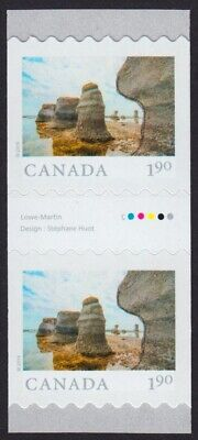 GUTTER pair = MINGAN ARCHIPELAGO = FROM FAR AND WIDE = Coil Canada 2019 MNH-VF