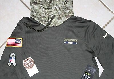 751a23cf9 NEW NIKE Dallas Cowboys SALUTE TO SERVICE All Time Hoody Womens Medium Camo  STS