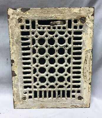Antique Cast Iron Heat Grate Floor Register 6X8 Vintage 176-19C