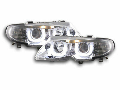 Scheinwerfer Angel Eyes BMW 3er E46 Limo/Touring Bj. 02-05 chrom