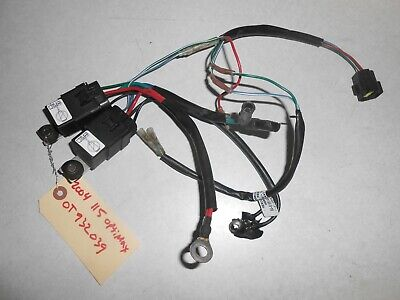 2004 115 hp mercury optimax outboard trim wire harness assy 819514t18 lot d4