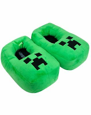 Sensational Minecraft Creeper Kids Boys 3D Green Slippers Size 11 Uk Ocoug Best Dining Table And Chair Ideas Images Ocougorg