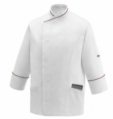GIACCA CAMICE BARBIERE BARBER CHEF EGOCHEF MADE ITALY SAYLOR CHEAP JACKET