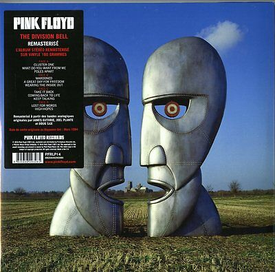 Pink Floyd The Division Bell 20Th.anniversary Deluxe Doble Vinilo Lp 180 Gramos
