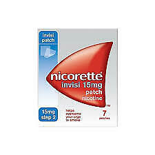 Nicorette Invisi Nicotine Patches Step 2 - 15 Mg 7 patches